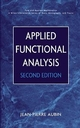 Applied Functional Analysis, 2nd Edition (0471179760) cover image