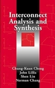 Interconnect Analysis and Synthesis  (0471293660) cover image
