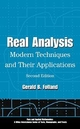 Real Analysis: Modern Techniques and Their Applications, 2nd Edition