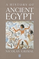 A History of Ancient Egypt (0631193960) cover image