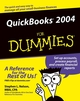 QuickBooks 2004 For Dummies (0764568760) cover image