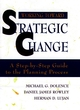 Working Toward Strategic Change: A Step-by-Step Guide to the Planning Process (0787907960) cover image