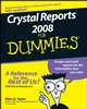 Crystal Reports 2008 For Dummies (1118052560) cover image