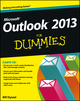 Outlook 2013 For Dummies (1118490460) cover image