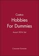 Costco Hobbies For Dummies Assort 2016 Set (1119377560) cover image