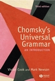 Chomsky's Universal Grammar: An Introduction, 3rd Edition (1405111860) cover image