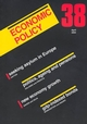 Economic Policy 38 (1405119160) cover image