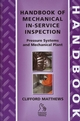 Handbook of Mechanical In-Service Inspection: Pressure Systems and Mechanical Plant (1860584160) cover image