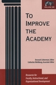 To Improve the Academy: Resources for Faculty, Instructional, and Organizational Development, Volume 20 (1882982460) cover image