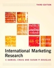 International Marketing Research, 3rd Edition (EHEP000860) cover image