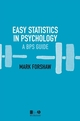 Easy Statistics in Psychology (EHEP001460) cover image