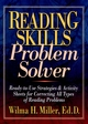 Reading Skills Problem Solver: Ready-to-Use Strategies and Activity Sheets for Correcting All Types of Reading Problems (0130422061) cover image