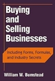 Buying and Selling Businesses: Including Forms, Formulas, and Industry Secrets (0471243361) cover image