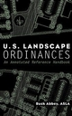 U.S. Landscape Ordinances: An Annotated Reference Handbook (0471292761) cover image