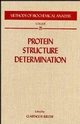 Protein Structure Determination (0471513261) cover image
