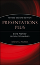 Presentations Plus: David Peoples' Proven Techniques, Revised 2nd Edition (0471559261) cover image