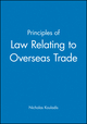 Principles of Law Relating to Overseas Trade (0631193561) cover image