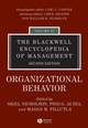 The Blackwell Encyclopedia of Management, Volume 11, Organizational Behavior, 2nd Edition (0631235361) cover image