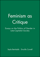 Feminism as Critique: Essays on the Politics of Gender in Late-Capitalist Society (0745603661) cover image