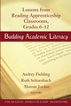 Building Academic Literacy: Lessons from Reading Apprenticeship Classrooms, Grades 6-12 (0787965561) cover image