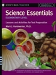 Science Essentials, Elementary Level: Lessons and Activities for Test Preparation (0787975761) cover image