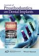 Journal of Prosthodontics on Dental Implants (1119115361) cover image