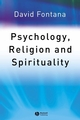 Psychology, Religion and Spirituality (1405108061) cover image