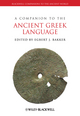 A Companion to the Ancient Greek Language (1405153261) cover image