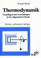 Thermodynamik: Grundlagen und Anwendungen in der allgemeinen Chemie, 2. Auflage (3527282661) cover image