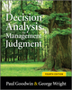Decision Analysis for Management Judgment, 4th Edition (EHEP000961) cover image
