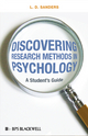 Discovering Research Methods in Psychology - A Student's Guide (EHEP001461) cover image