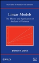 Linear Models: The Theory and Application of Analysis of Variance (0470025662) cover image