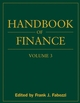 Handbook of Finance, Volume 3, Valuation, Financial Modeling, and Quantitative Tools (0470078162) cover image