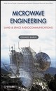 Microwave Engineering: Land & Space Radiocommunications (0470089962) cover image