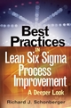 Best Practices in Lean Six Sigma Process Improvement: A Deeper Look (0470168862) cover image