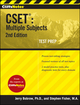 CliffsNotes CSET: Multiple Subjects, 2nd Edition (0470455462) cover image