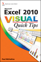 Excel 2010 Visual Quick Tips (0470577762) cover image