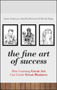 The Fine Art of Success: How Learning Great Art Can Create Great Business (0470661062) cover image