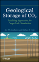 Geological Storage of CO2: Modeling Approaches for Large-Scale Simulation (0470889462) cover image