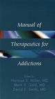 Manual of Therapeutics for Addictions (0471561762) cover image