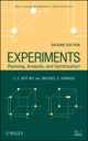 Experiments: Planning, Analysis, and Optimization, 2nd Edition (0471699462) cover image