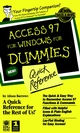 Access 97 For Windows For Dummies Quick Reference  (0764500562) cover image