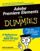 Adobe Premiere Elements For Dummies (0764588362) cover image