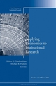 Applying Economics to Institutional Research: New Directions for Institutional Research, Number 132 (0787995762) cover image
