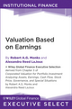 Valuation Based on Earnings (1118026462) cover image