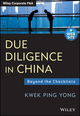 Due Diligence in China: Beyond the Checklists (1118469062) cover image