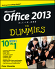 Office 2013 All-In-One For Dummies (1118516362) cover image