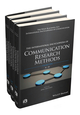 The International Encyclopedia of Communication Research Methods, 3 Volume Set (1118901762) cover image