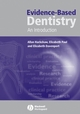 Evidence-Based Dentistry: An Introduction (1405124962) cover image