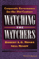 Watching the Watchers: Corporate Goverance for the 21st Century (1557868662) cover image